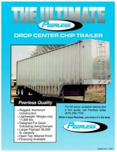 Drop Center Chip Trailer Spec Sheet Cover