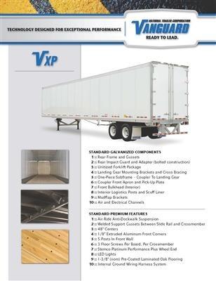 VXP Spec Sheet