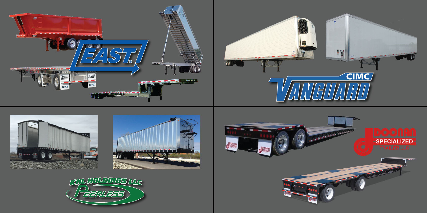 Trailers Truck Equip Inc Quality Trailer Wiring Diagram Strength Durability Value And Innovation All Work Together At East Manufacturing In The Manufacture Of That Take On Some Toughest